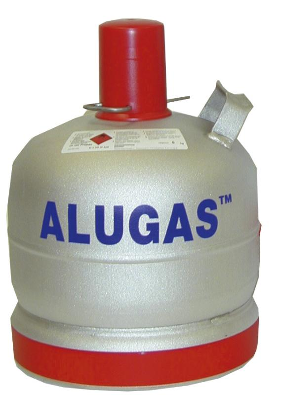 Alugas Hliníková plynová láhev 6 kg SRN norma