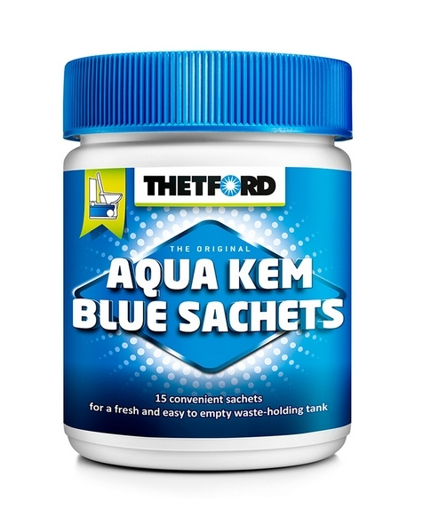 Thetford WC chemie Thetford Aqua Kem Blue Sachets