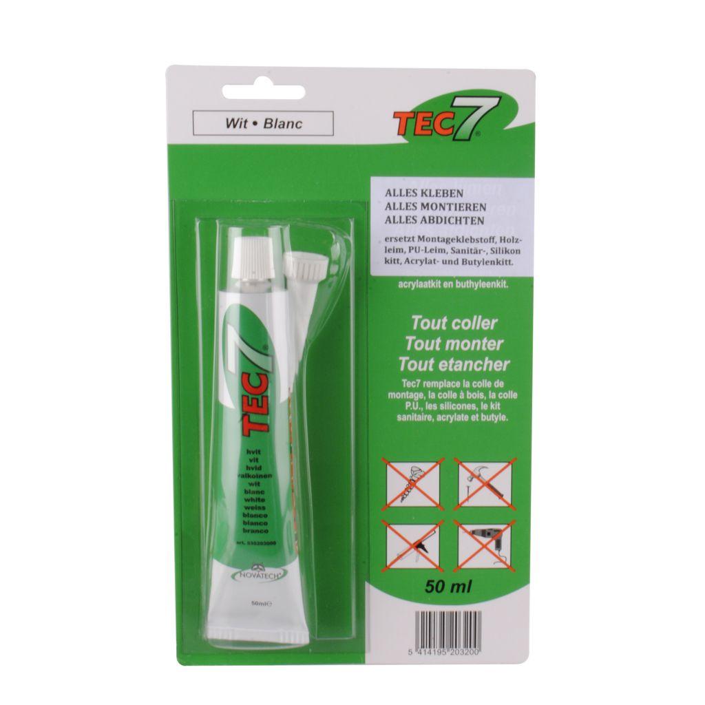 TEC7 TEC7 lepidlo a tmel bílá 50 ml