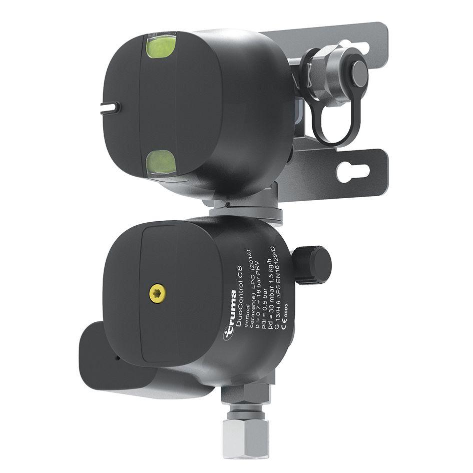 Truma Truma DuoControl CS plynový regulátor s crash senzorem DuoControl CS vertikální