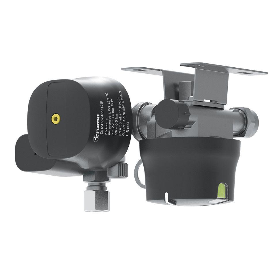 Truma Truma DuoControl CS plynový regulátor s crash senzorem DuoControl CS horizontální