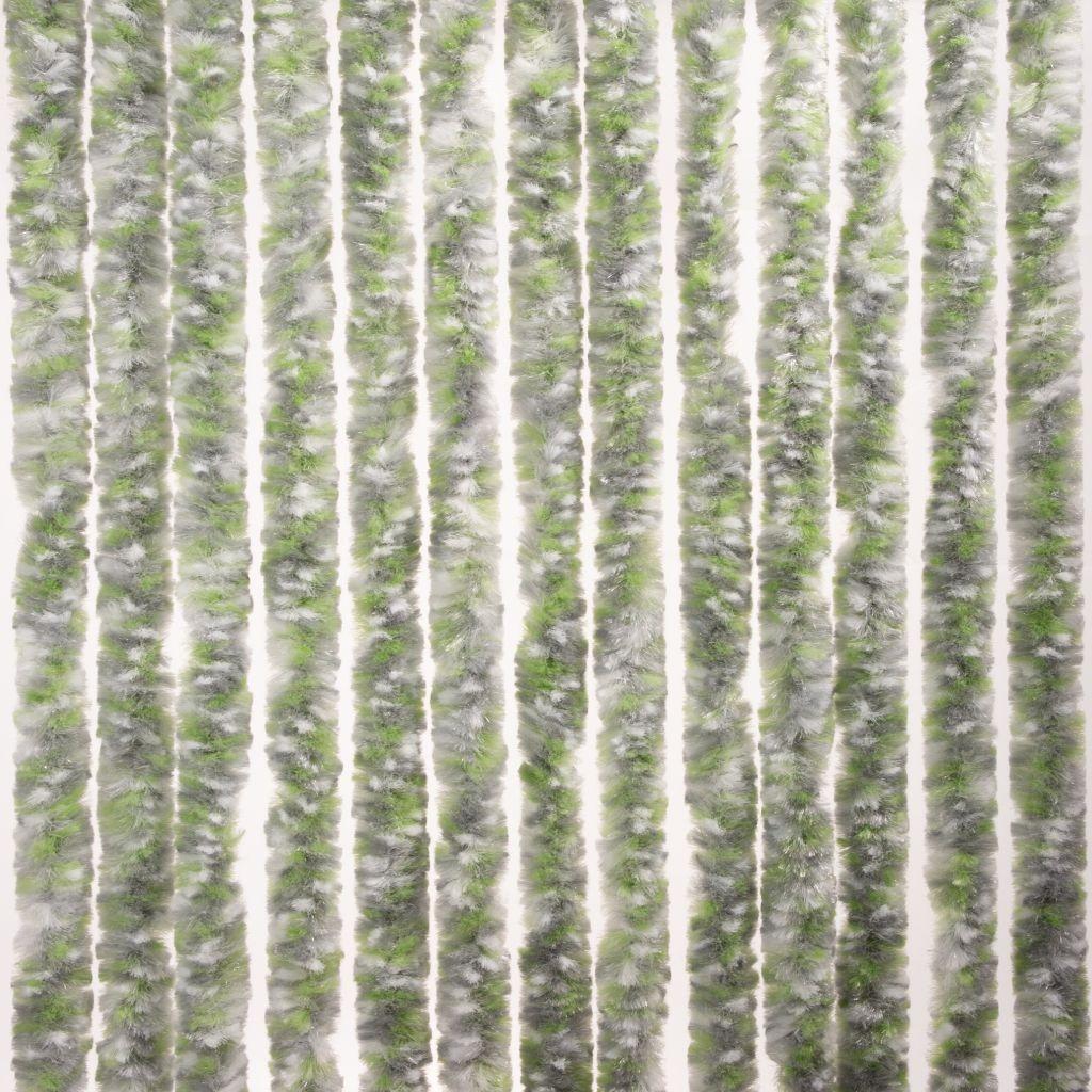 Brunner Dekorativní závěs proti hmyzu do dveří karavanu, 100x205 cm zelená/šedá/bílá